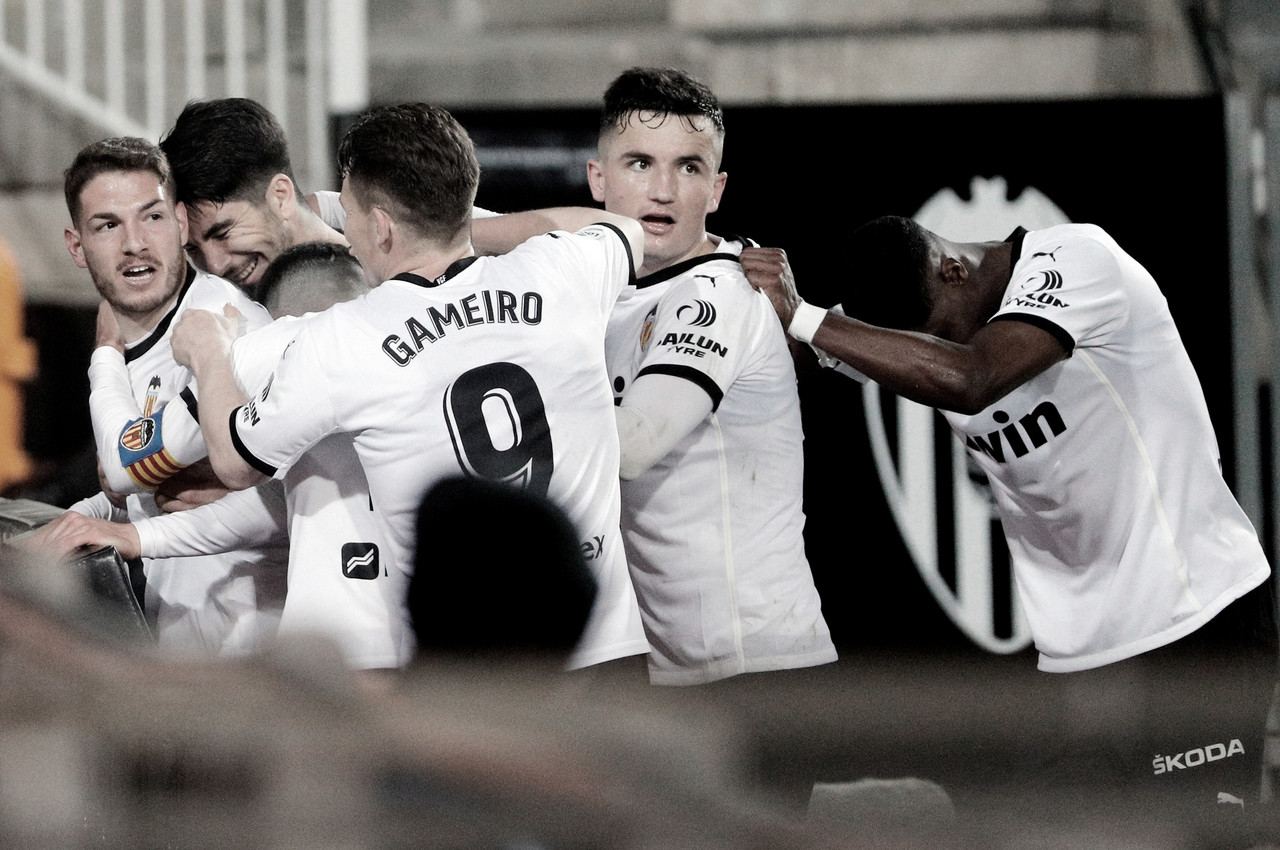 Resumen Valencia CF vs Celta de Vigo (2-0)