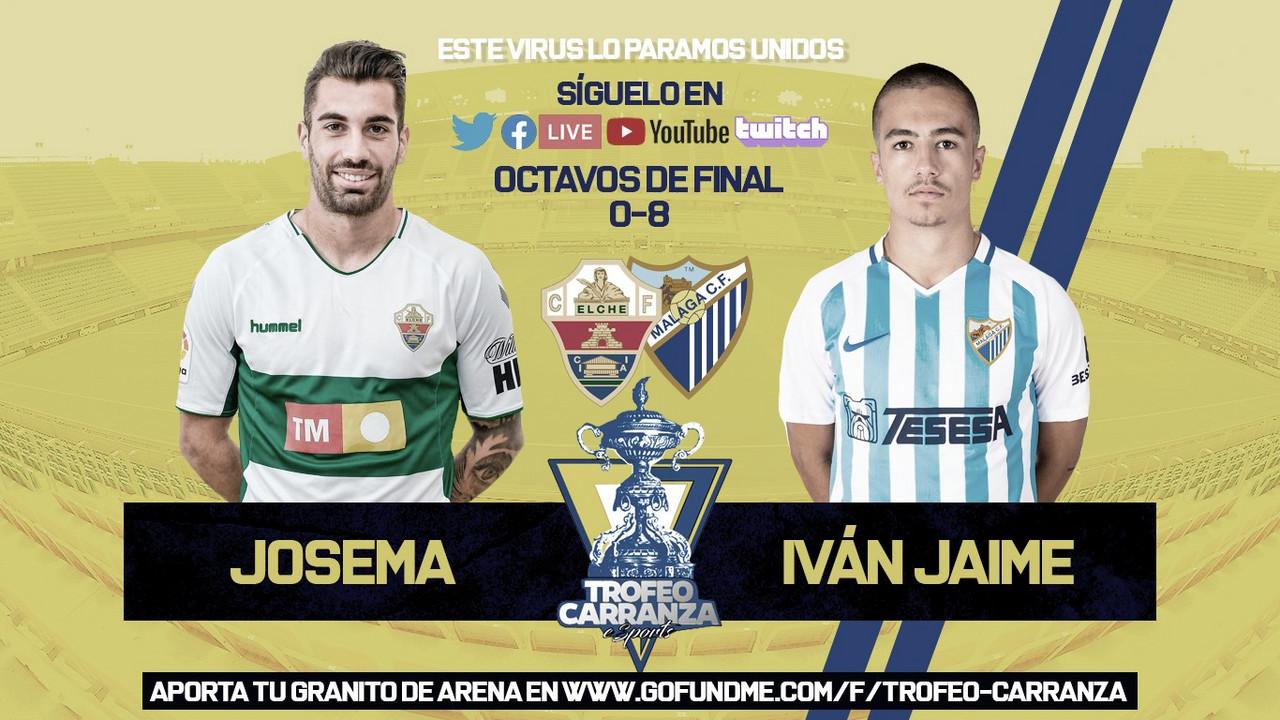 El Málaga, en cuartos de final del Trofeo Carranza eSports