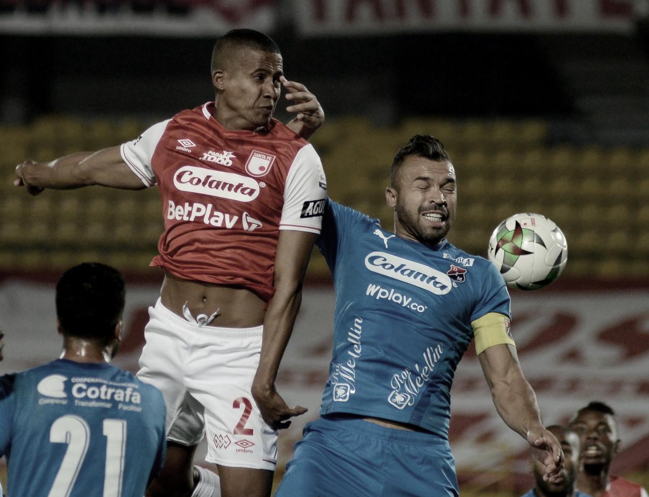 Empate sin pena ni gloria entre Santa Fe y Medellín