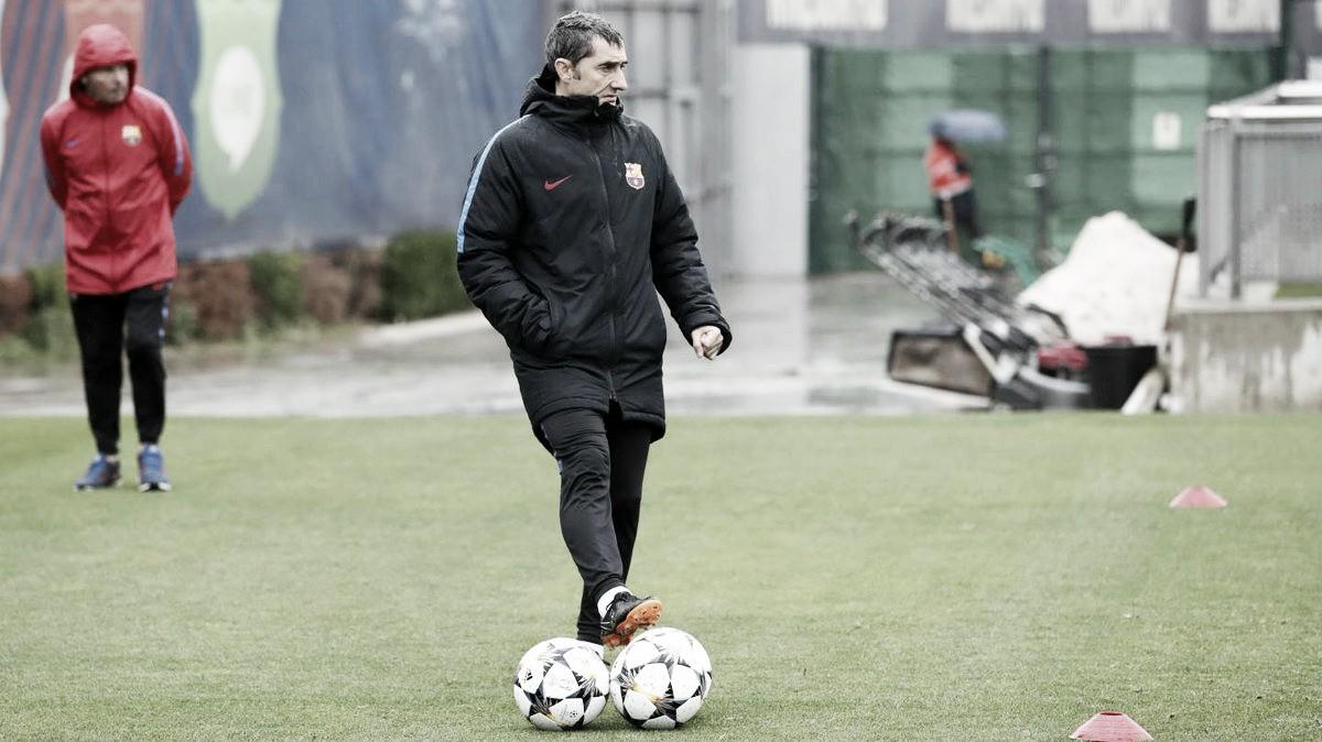 """Champions League, Valverde a Roma: """"Bel vantaggio, ma può succedere di tutto"""""""