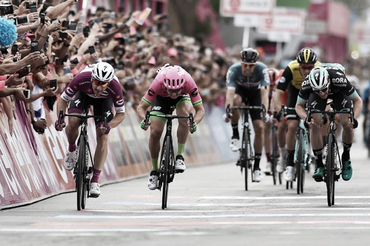 Giro d'Italia, ancora Elia Viviani a Eilat