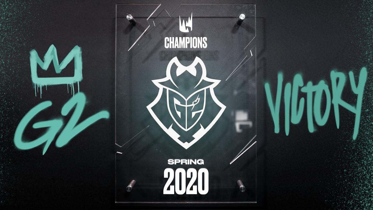 G2, campeón del Spring-Split 2020