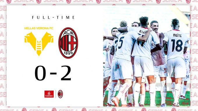 Segna chinon te lo aspetti: il Milan vince contro il Verona