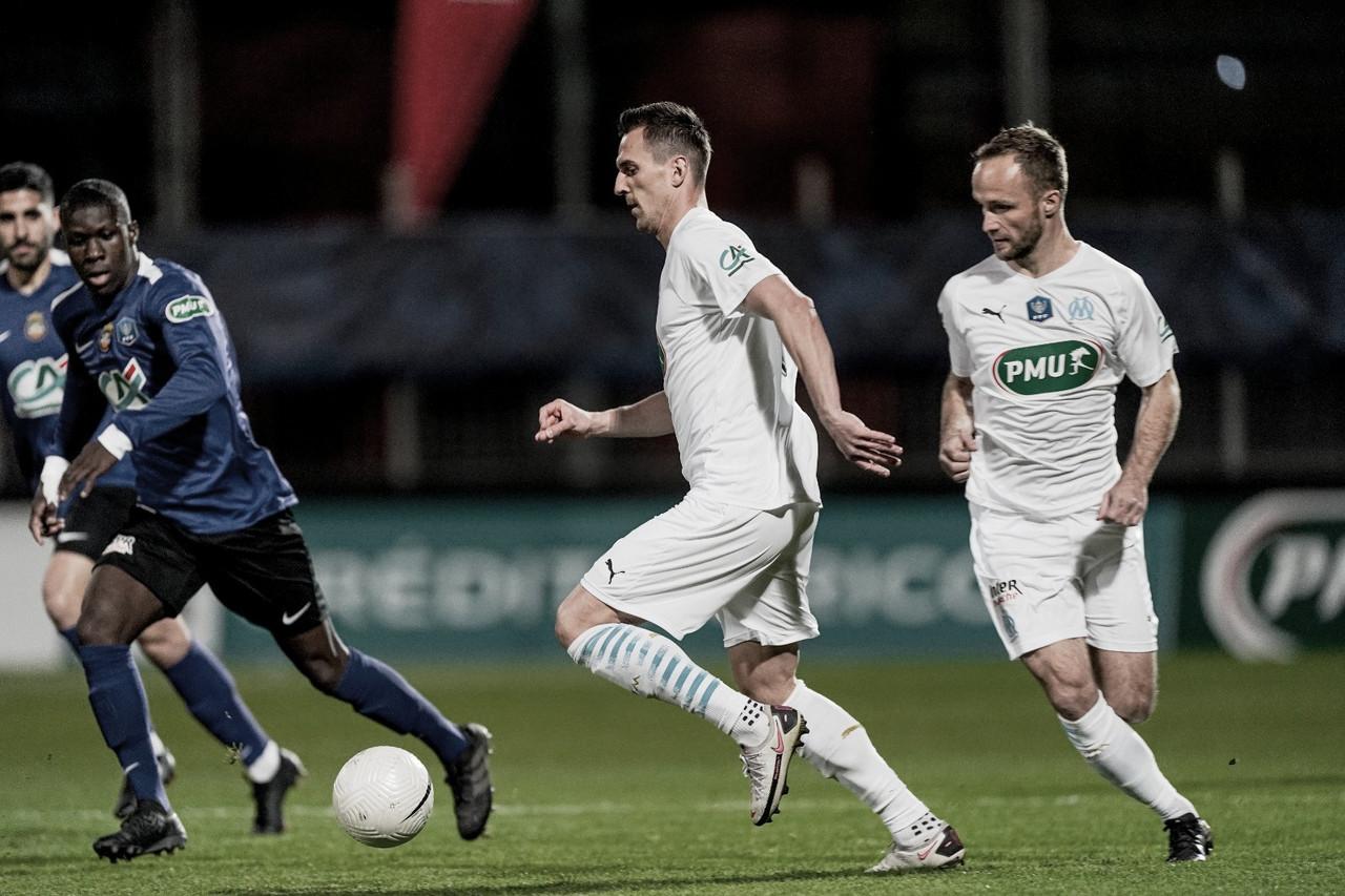 Canet Roussillon surpreende e elimina Olympique de Marseille na Copa da França