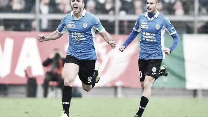 Serie B - Novara di contropiede, Evacuo show: l'Avellino perde testa e partita (4-1)