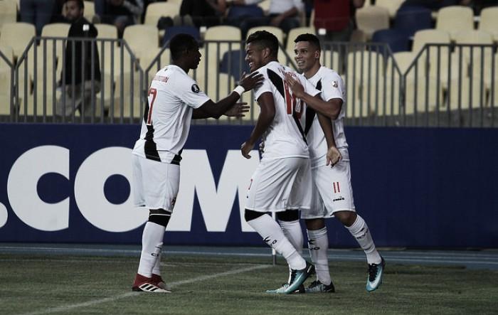 Vasco vence por goleada fora de casa e encaminha classificação na primeira fase da Libertadores