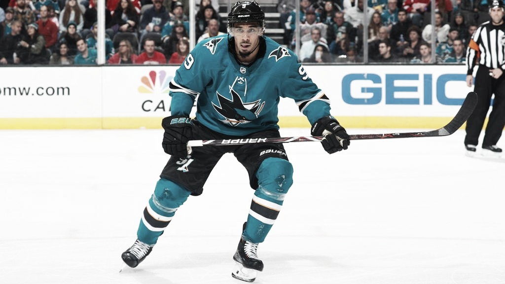 Los Sharks están considerando anular el contrato de Evander Kane