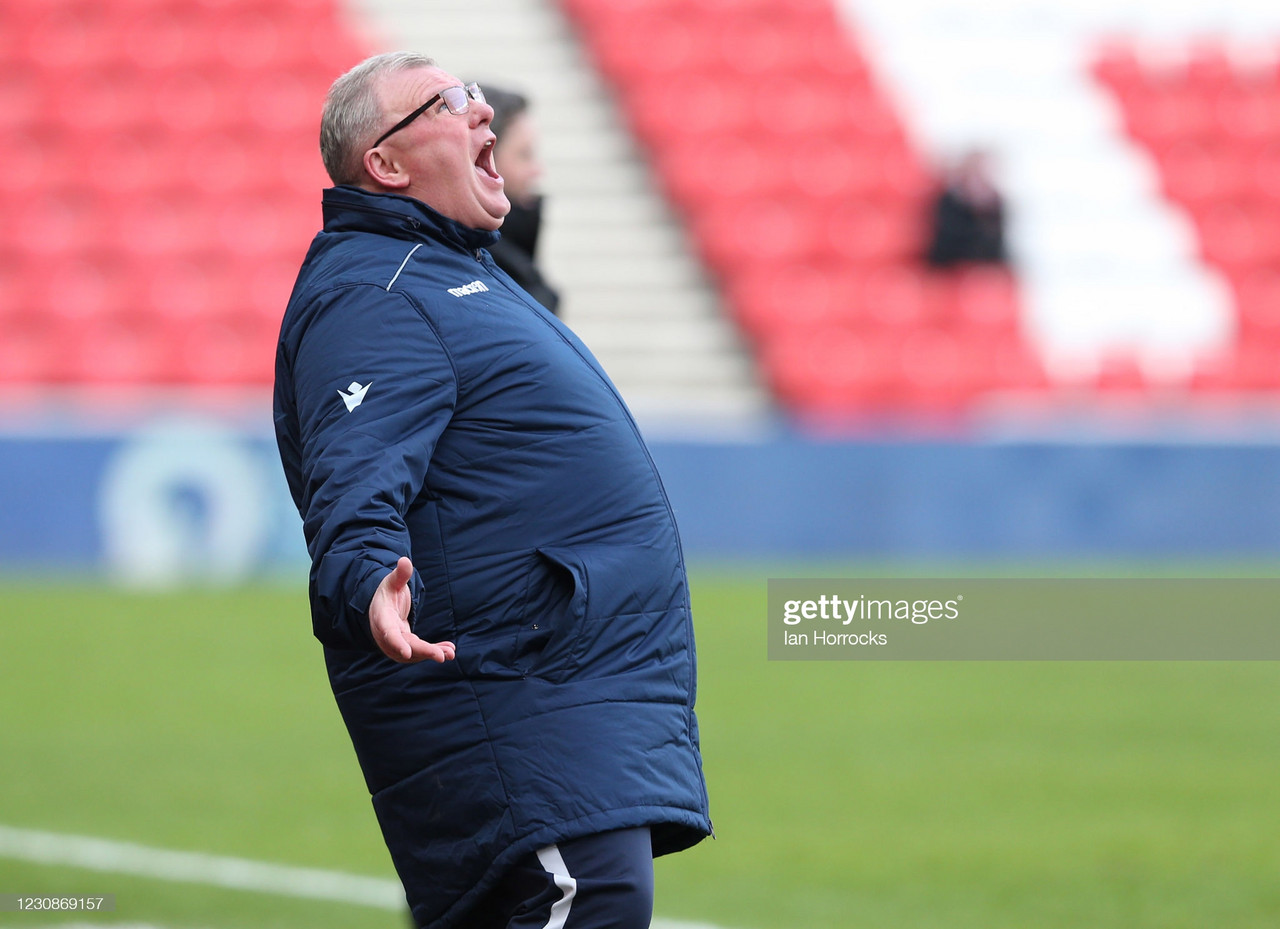 The five key quotes from Steve Evans' pre-Lincoln press conference