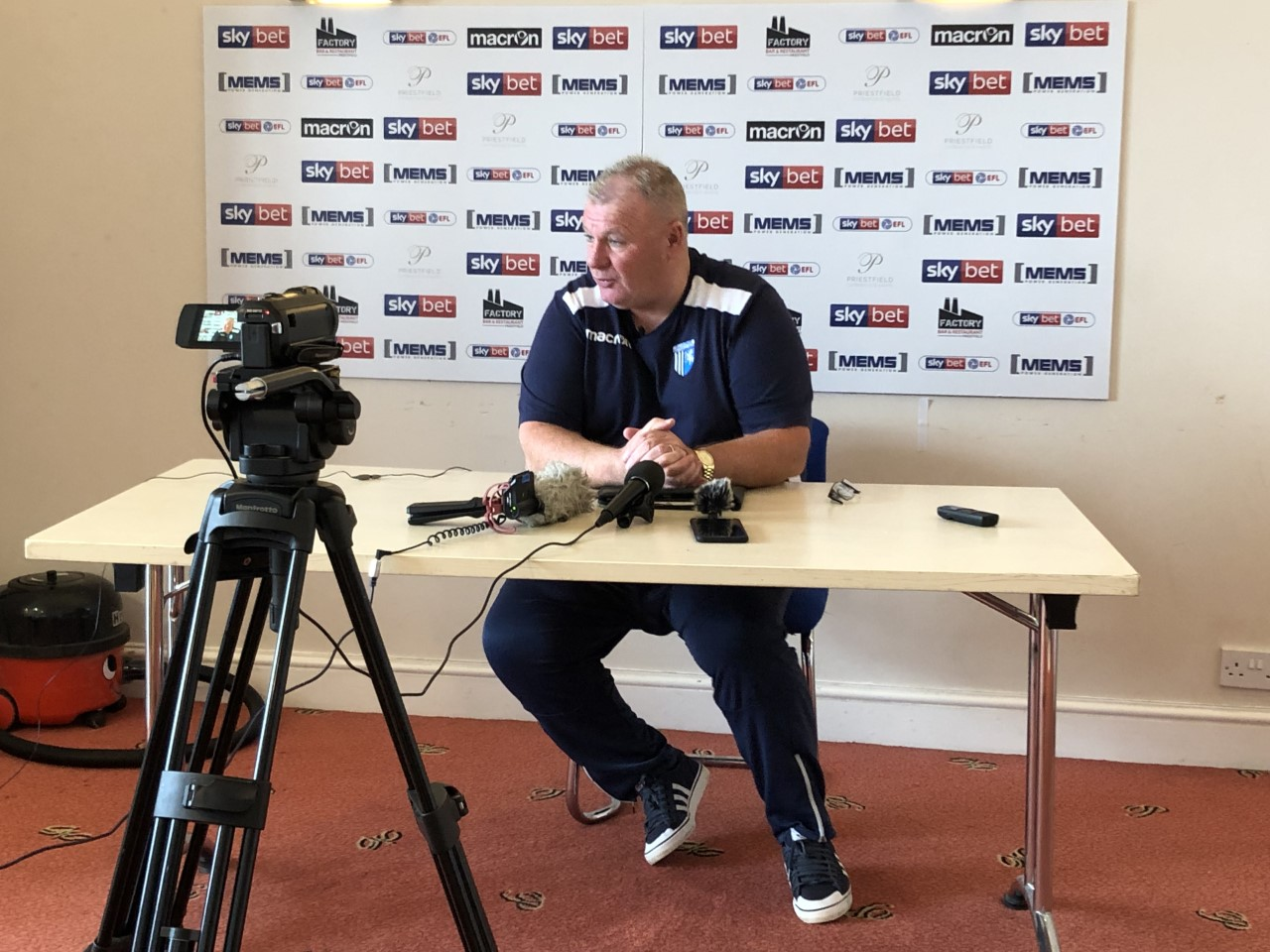 The five key quotes from Steve Evans' pre-Sunderland press conference