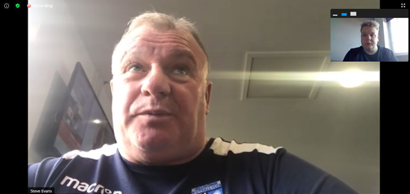 The five key quotes from Steve Evans' pre-Woking press conference
