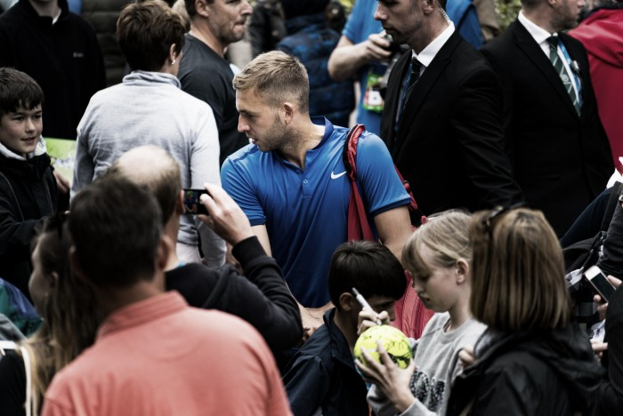 ATP Nottingham: Dan Evans reflects on his first round win