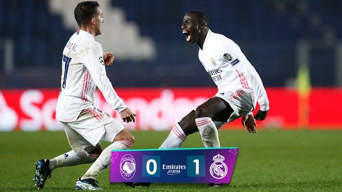 Champions League - Il Real vince a Bergamo grazie ad un gol di Mendy