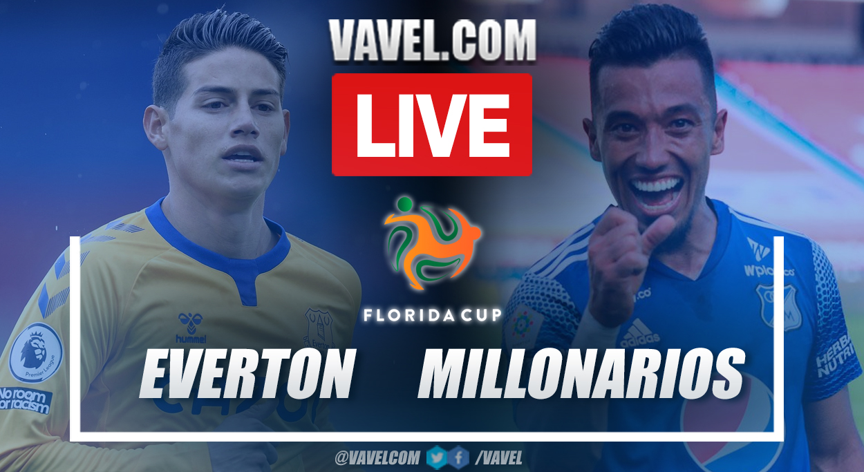 Highlights and goals: Everton 1 (10) - 1 (9) Millonarios in 2021 Florida Cup