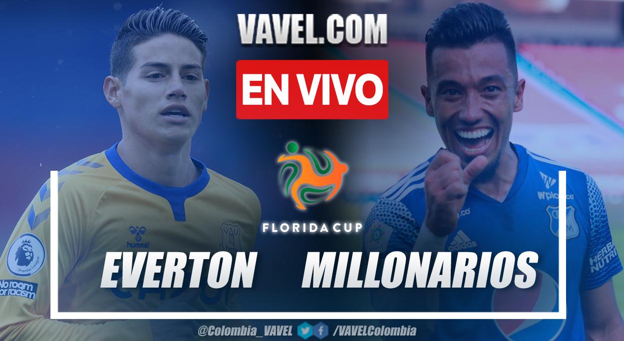 Resumen y goles: Everton 1 (10) - 1 (9) Millonarios en la Florida Cup 2021