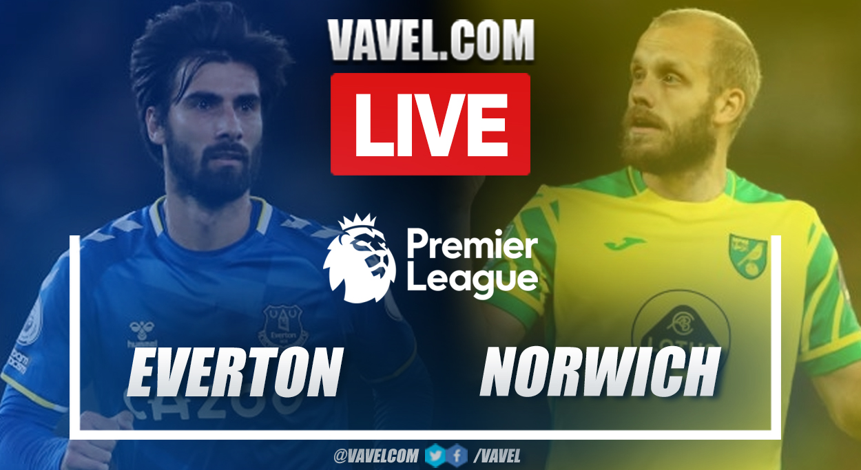 Highlights and goals: Everton 2-0 Norwich in Premier League 2021-22