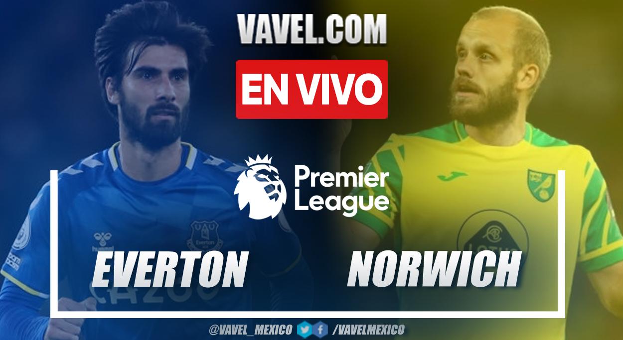 Resumen y goles: Everton 2-0 Norwich en Premier League 2021-22
