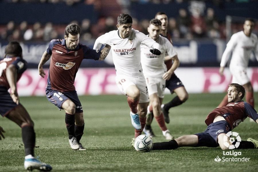 La falta de pegada deja con las ganas al Sevilla