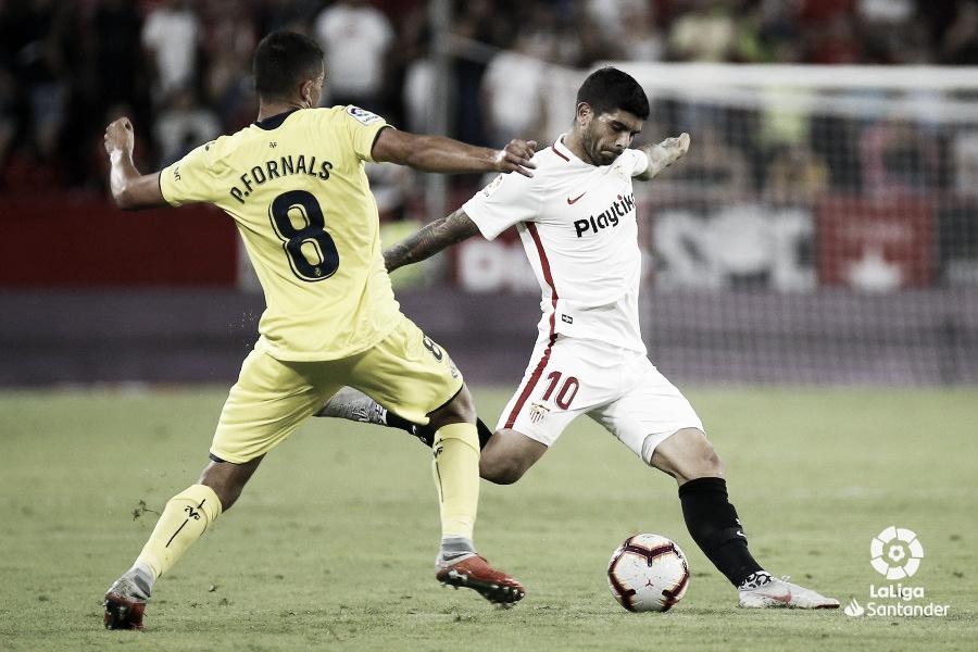 Villarreal vs Sevilla en vivo en La Liga 2019 (3-0)