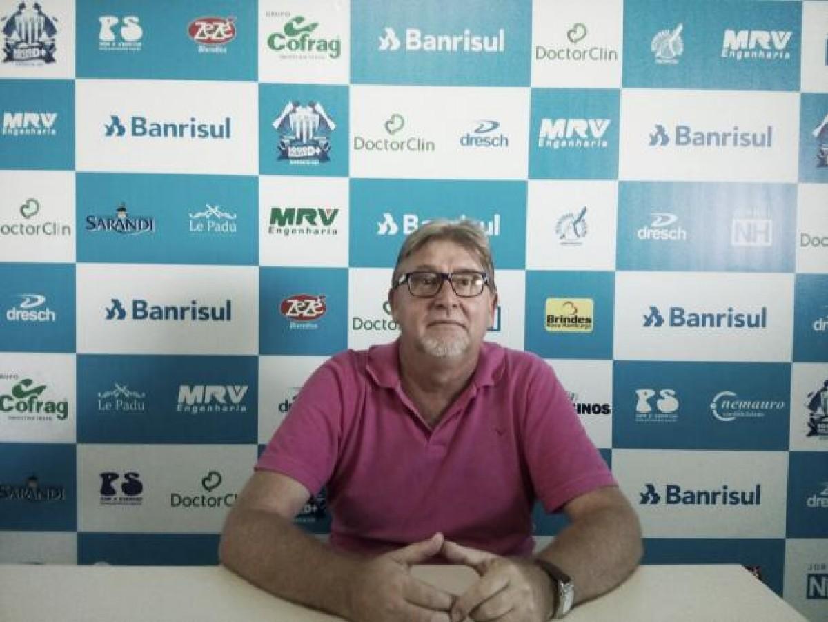 Após dois anos, Everton Cury deixa vice-presidência do Novo Hamburgo