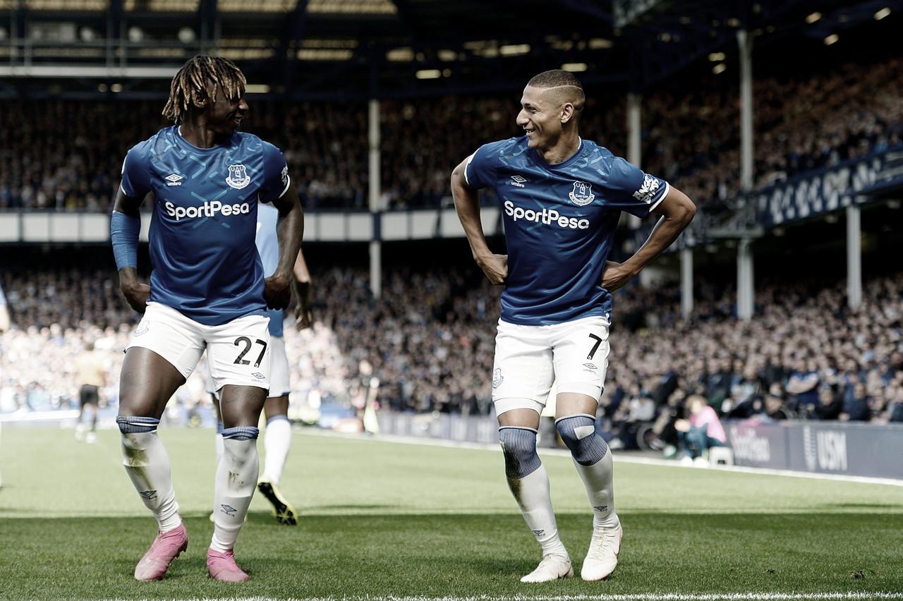 Richarlison decide, e Everton vence Wolvehampton em casa