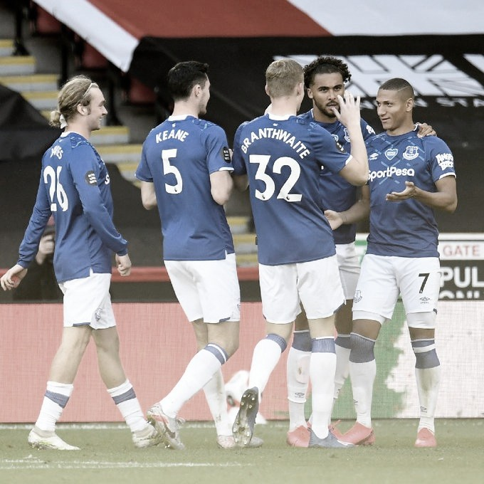 Com gol de Richarlison, Everton derrota Sheffield United pela Premier League