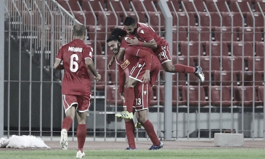 Destaque no Al-Muharraq, atacante Everton comemora fase vivida no clube