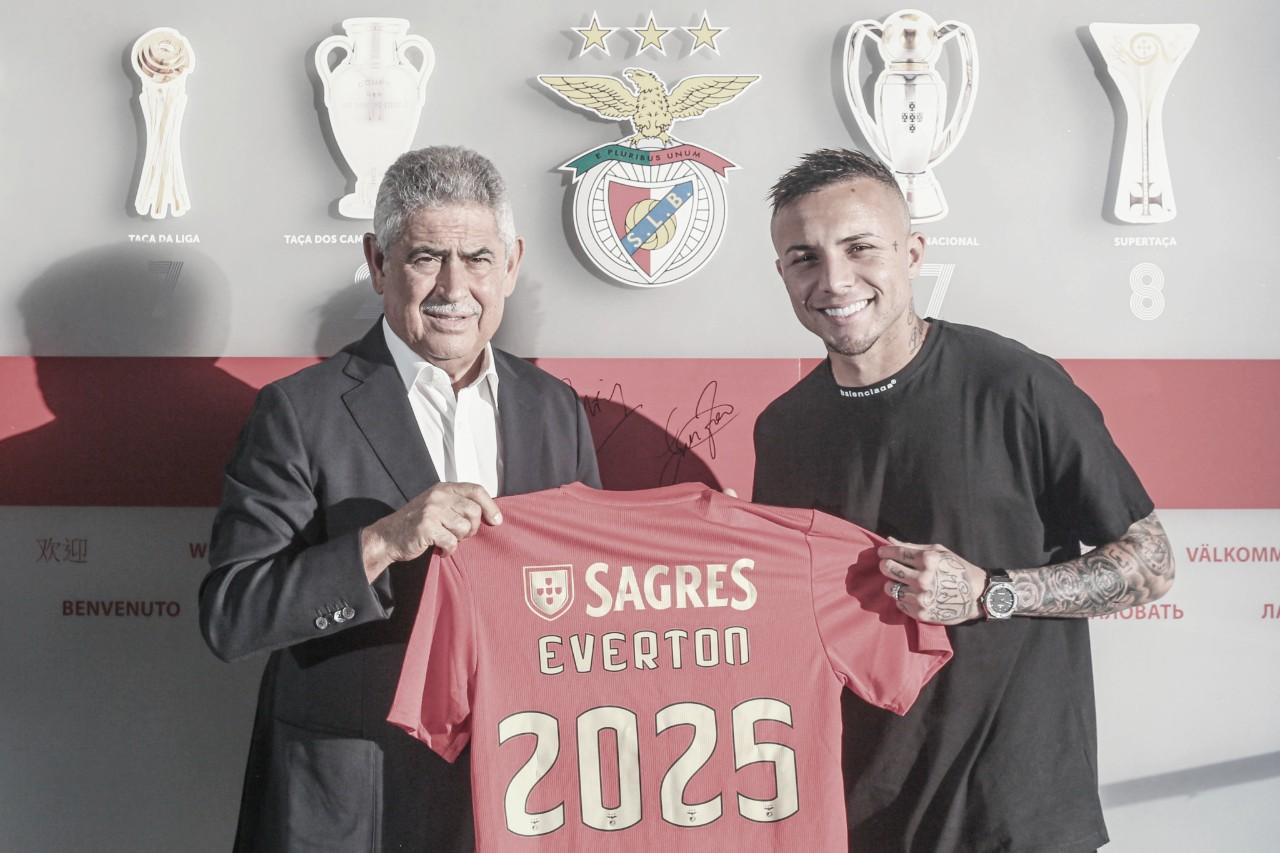 Além de Everton, Benfica anuncia chegada de zagueiro Vertonghen e atacante Waldschmidt