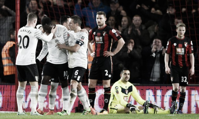 Bournemouth 0-2 Everton: Barkley and Lukaku send Toffees through to FA Cup quarter-finals