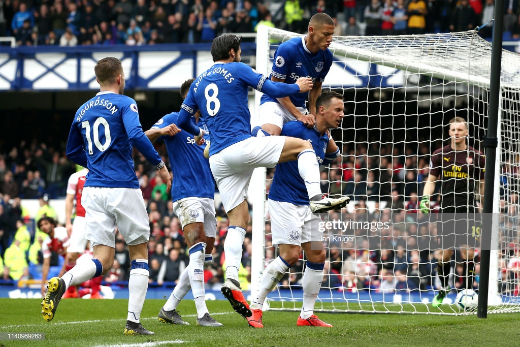 Everton 1-0 Arsenal: Gunners stall on the road once more