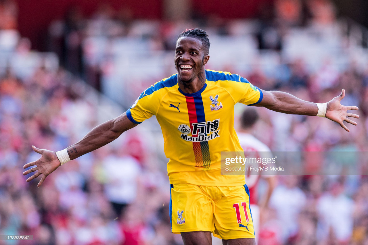 Report: Everton set to make increased offer for Wilfried Zaha