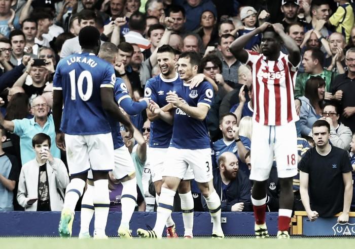 Everton 1-0 Stoke City: Koeman's men hold on in captivating clash