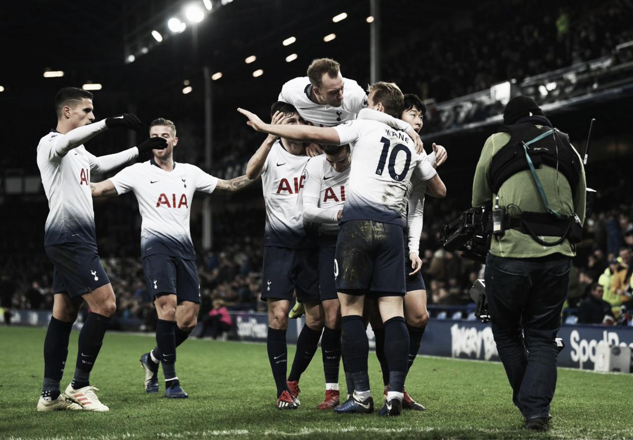 Tottenham amplia freguesia e atropela Everton fora de casa