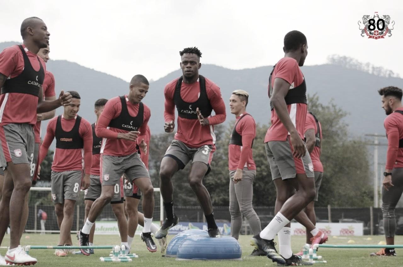 Los convocados de Independiente Santa Fe para recibir a Deportes Tolima