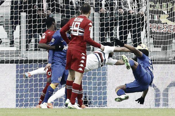 Diretta Sampdoria - Juventus, risultato live della partita di Serie A (0-1)