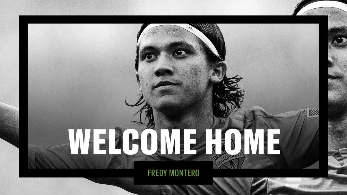 Fredy Montero vuelve a casa