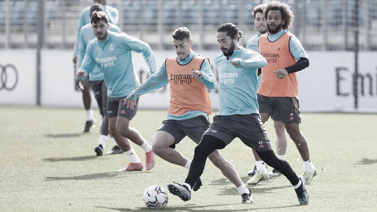 Convocatoria Real Madrid para enfrentar a Real Sociedad