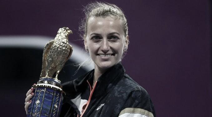 Kvitova atropela Muguruza e conquista segundo título em Doha