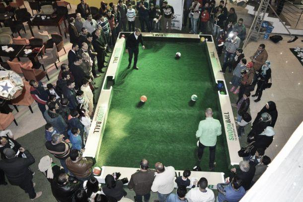Una curiosa invenzione chiamata snookball