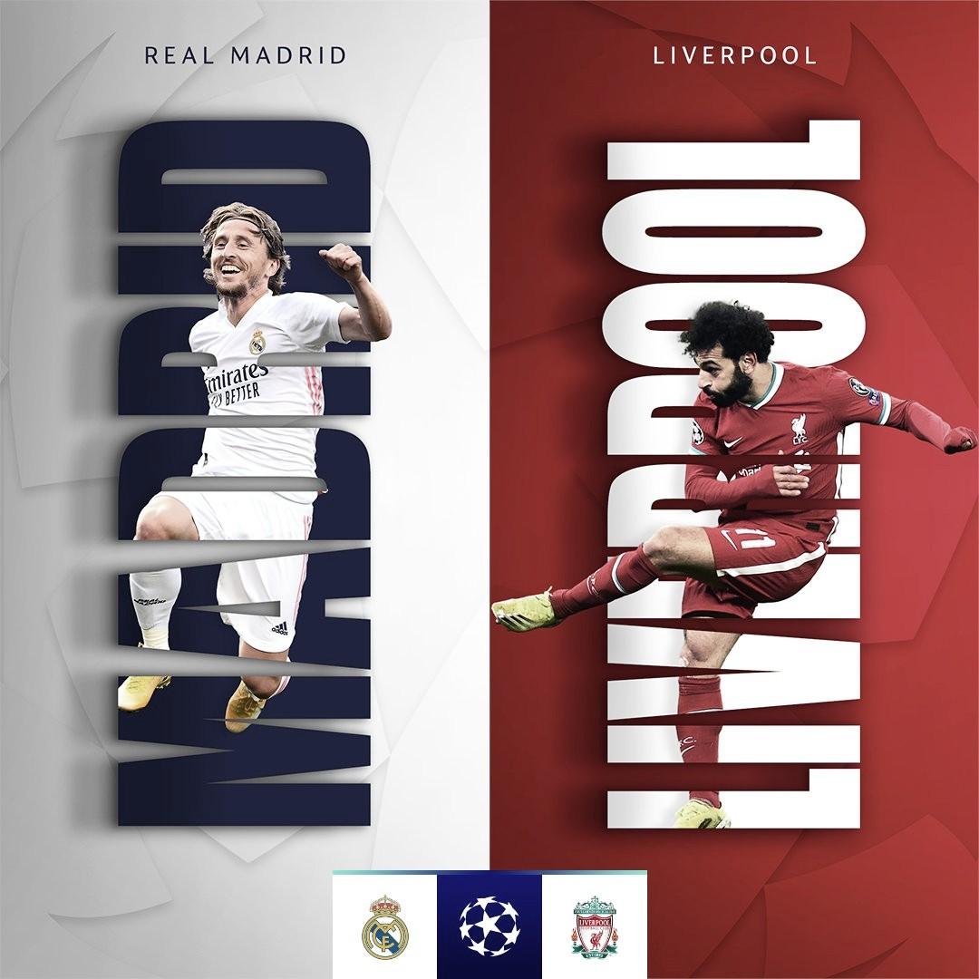 Real Madrid y Liverpool reeditan la final del 2018
