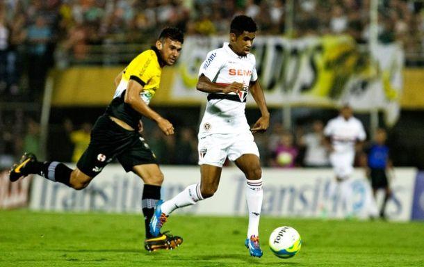 Sem jogar bem, São Paulo apenas empata com o São Bernardo