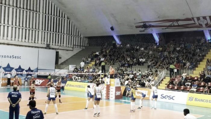 Rexona-SESC bate o Sesi-SP e segue invicto na Superliga