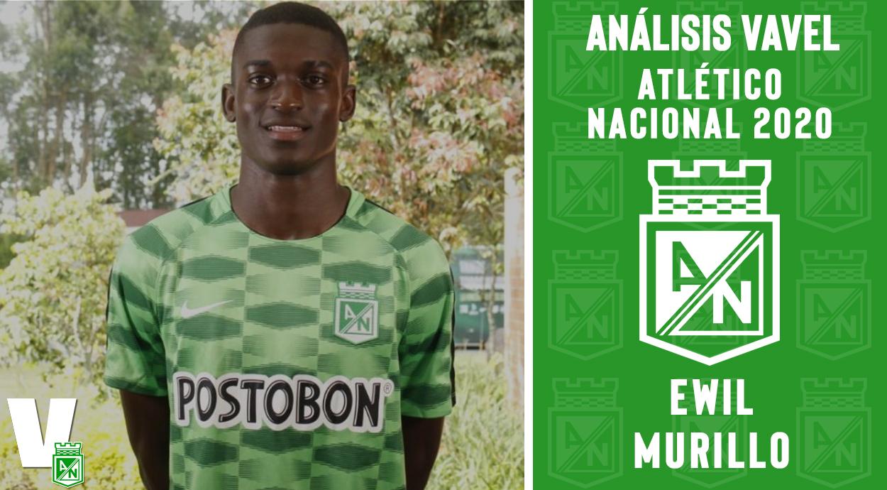Análisis VAVEL, Atlético Nacional 2020: Ewil Murillo