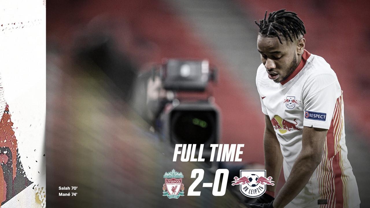 Un correcto Liverpool destrozó a un gris Leipzig