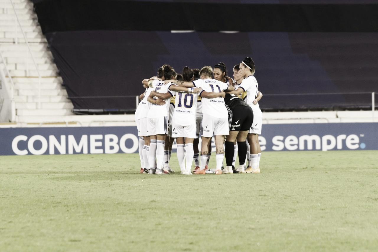 Boca Juniors Femenino clasificado a los cuartos de final de la Copa Libertadores Femenina