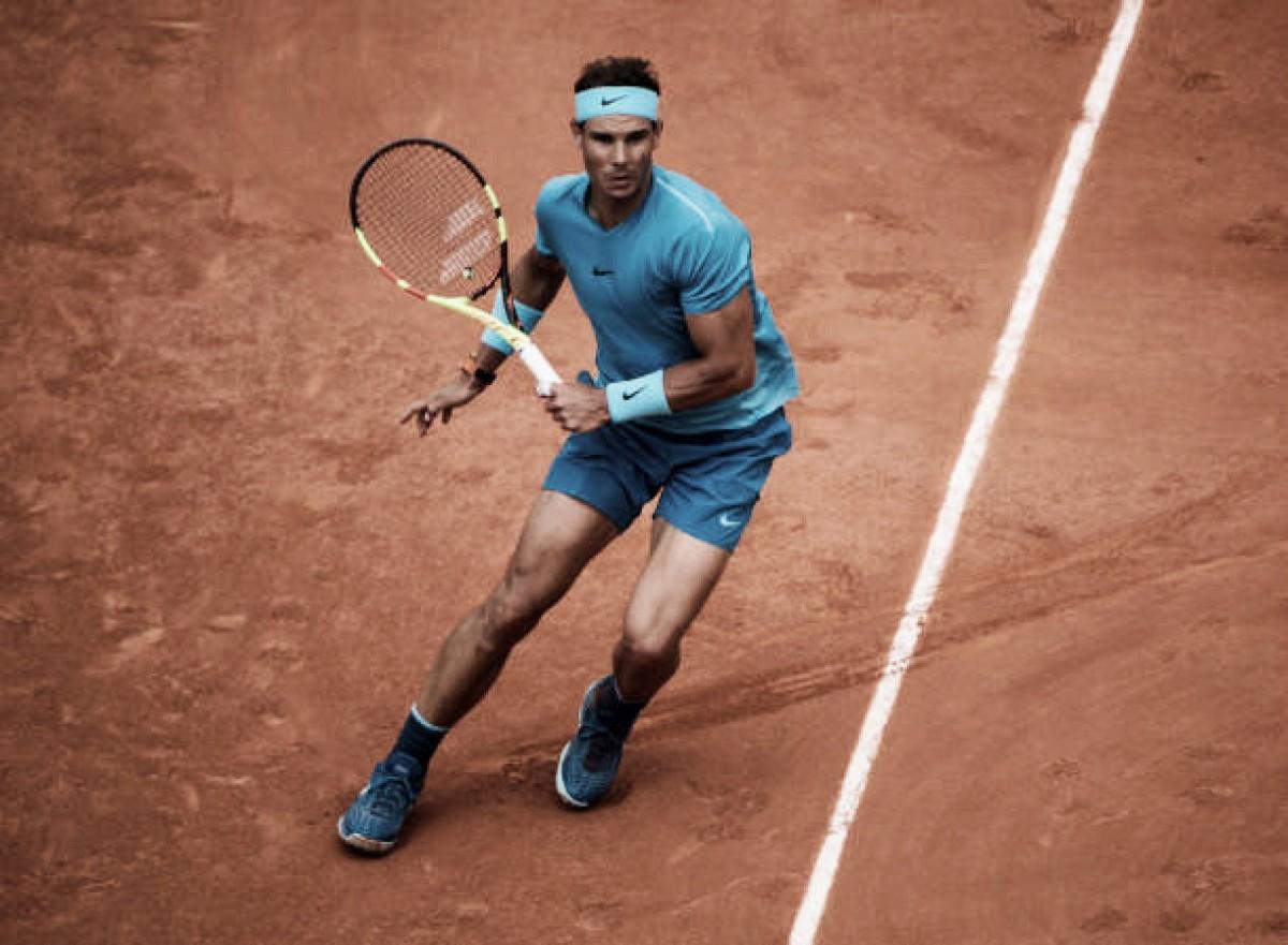 Nadal vence 'freguês'Gasquet e avança às oitavas de Roland Garros