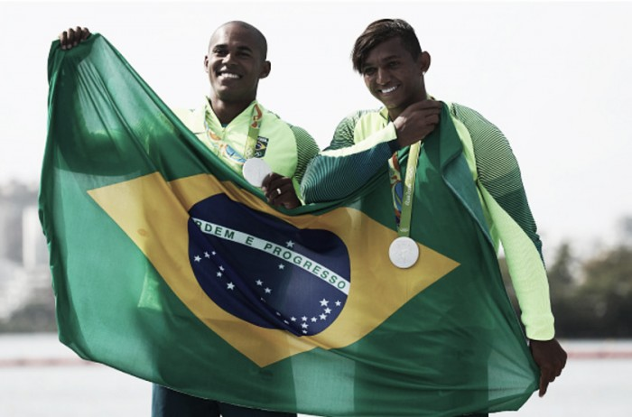 Canoagem: Isaquias e Erlon faturam a prata naC2 1.000m