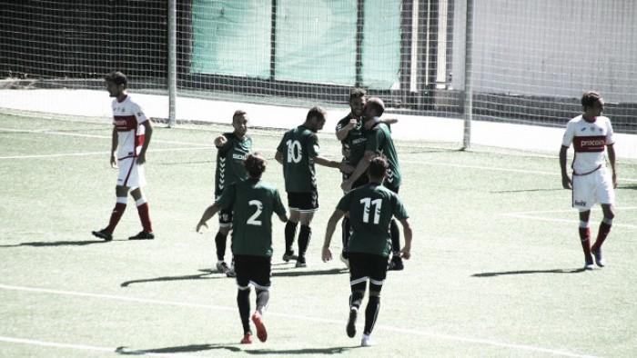 Sublime gol de Adrián Jiménez en la victoria del Toledo en casa del Sanse