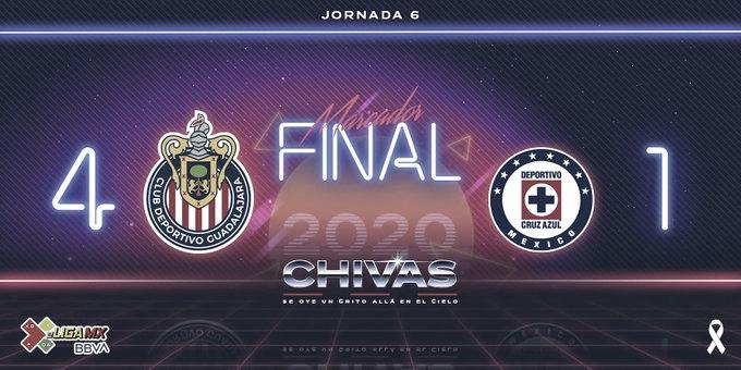 Chivas agudiza situación de Cruz Azul en la eLiga MX