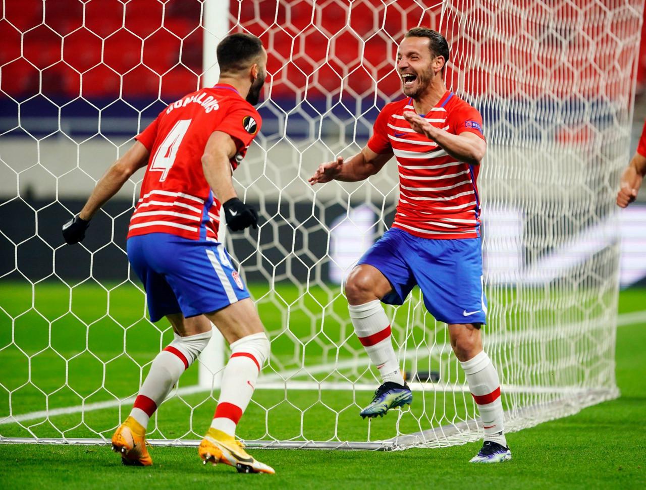 El Granada CF, en un bombo con rivales que suman más de dos mil partidos en competición europea