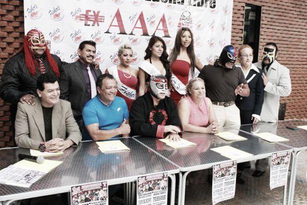 Ex luchadores de AAA estarán juntos el 16 de mayo